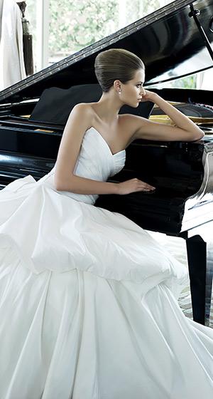 لباس عروس پرنویا