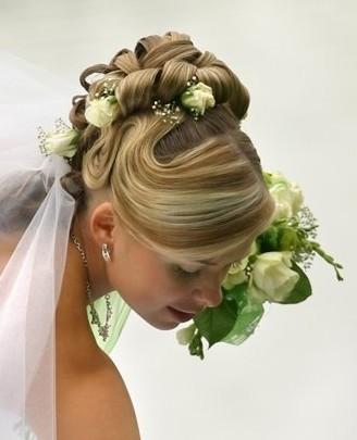 عکس مدل آرایش موی عروس