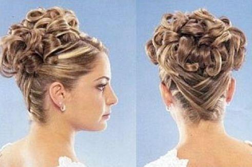 تصویر مدل آرایش موی عروس