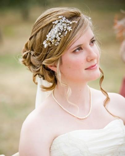 مدل موی عروس برای موهای بلند بلوند عکس